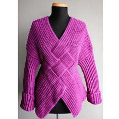 Mongolian Warrior Pullover |Featured on CrochetSquare.com
