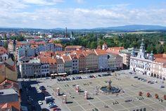 **Premysla Otakara II Square (Namesti Premysla Otakara II) (main square) - Ceske Budejovice, Czech Republic