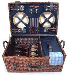 The beautiful wicker Riviera Collection - A for 4 is back and available for ordering at Today's Picnic.