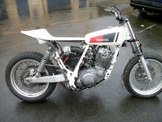 Yamaha TT600 street tracker << hope mine looks as good if not better when its done