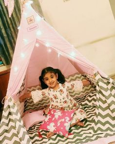 Teepee Tent For Sale, Girls Tent, Kids Teepee Tent, Play Tents, Teepees, Sleepover Party, Slumber Parties, Childrens Tent, 2nd Birthday Party For Girl