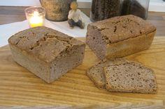 Surdeigsbrød er sunt, og brød bakt på denne måten har en god effekt på fordøyelsen. Surdeigsbrød tilfører også tarmen gode mikrober. Banana Bread, Desserts, Food, Tailgate Desserts, Deserts, Meals, Dessert, Yemek, Eten