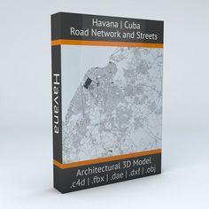 Havana Road Network and Streets | 3D model