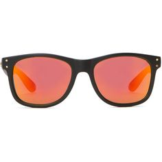 d9442f5a05b6 LOCAL SUPPLY Bruce Waynes Sunset Mirror Sunglasses ( 65) ❤ liked on Polyvore