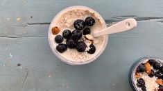 Klassiska overnight oats - Goda Tider Overnight Oats, Oatmeal, Vegetarian, Breakfast, Food, Pastry Chef, The Oatmeal, Morning Coffee, Rolled Oats