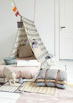un lit créatif pour votre chambre d'enfant