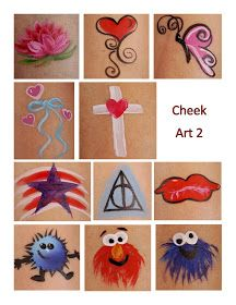 218 best cheek art images face painting designs face paintings