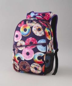 """Kids Donut Backpack - """"Donut"""" miss the chance to take this sweet backpack on your next adventure. Any way you slice it, the water-resistant neoprene bag is a cool way to carry gear."""