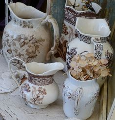transferware~love~so many pieces are now at the store! Come see what new transferware we have at American Home & Garden in Ventura