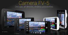 Camera FV-5 is a professional camera application for mobile devices that puts DSLR-like manual controls in your fingertips. Tailored to enthusiast and professional photographers with this camera application you can capture the best raw photographs so that you can post-process them later and get stunning results. The only limit is your imagination and creativity! Major features:  All photographic parameters are adjustable and always at hand: exposure compensation ISO light metering mode focus…