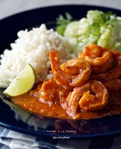 """Calling all the brave spicy souls! Are you there? ... If you are one of them, keep reading because your ride to spicy heaven is here. Deviled Shrimp - Camarones a la Diabla! Why """"a La Diabla"""" well ..."""