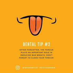 While teeth are important, don't forget about the tongue! 1800dentist.com