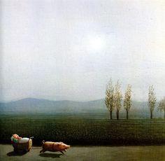 German artist,  Michael Sowa (b. 1945)