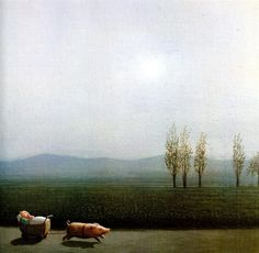 German artist,  Michael Sowa (b. 1945)