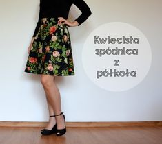 Waist Skirt, High Waisted Skirt, Floral, Skirts, Diy, Fashion, Build Your Own, Moda, Bricolage