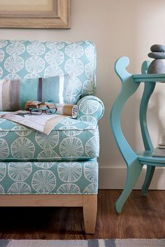 The Stevie Loveseat | Maine Cottage #colorfulfurniture