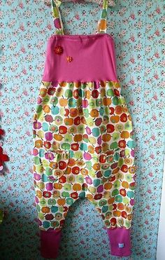 ♥overall ♥haremshose♥lagenlook ♥romantic ♥upcycling ♥bunt♥suss♥schabby☻sarouel
