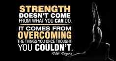 Streangth Doesnt Come From What you Can Do  #weightloss #diet #fitness #health #wellbeing #inspiration #motivation #healthy #weightlossquotes #quotes  Like us on Facebook: http://www.facebook.com/LoseWeightLookGreat