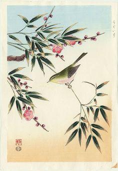 ARTMEMO -Oiseaux en estampes japonaises