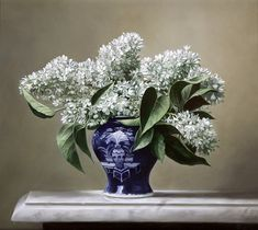 white hydrangea DIY oil painting by Numbers Hand-painted digital wall decor painting for living room unique art Flower Vases, Flower Art, Art Through The Ages, Gifts For An Artist, Digital Wall, Gras, Claude Monet, Great Artists, Unique Art