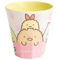 Sumikko Gurashi Plastic Cup Pink Dot Cup $5.65 http://thingsfromjapan.net/sumikko-gurashi-plastic-cup-pink-dot-cup/ #sumikko gurashi #san x products #kawaii Japanese stuff