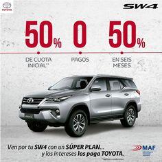 En agosto podrás comprar tu Toyota SW4. Ven a Autoamérica y pregunta este súper plan de financiación. https://autoamerica.com.co/financiaci%C3%B3n-sw4/
