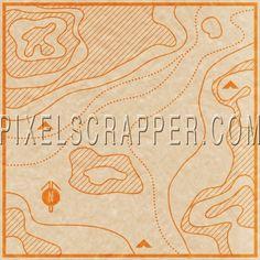 Khaki Scouts - Map Paper*