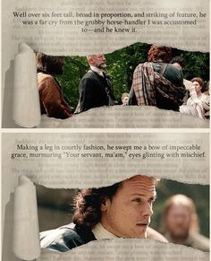 Book to screen from @outlanderfans