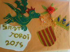Mural Sant Jordi 2015
