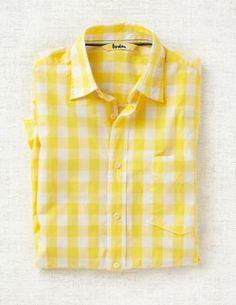 $74. Superfine Gingham shirt from Boden