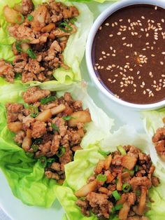 Copycat PF Chang's Chicken Lettuce Wraps.  This one got a THUMBS UP from both boys!  Double the recipe next time.
