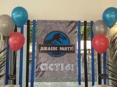 Banner, globos con helio