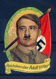 """Oblate """"Reichskanzler Adolf Hitler""""."""