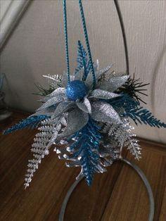 Pine cone tree ornament.