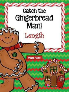 Gingerbread activities: FREE Catch the gingerbread man measuring length activities. Gingerbread Man Activities, Christmas Activities, Winter Activities, Measurement Activities, Preschool Activities, Math Measurement, Length Measurement, Kindergarten Centers, Math Centers