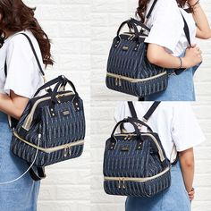diaper bags guide and tips Diaper Bag Backpack, Diaper Bags, Small School Bags, Leather School Bag, Backpack Pattern, Shoulder Backpack, Traveling With Baby, Luxury Bags, Bags
