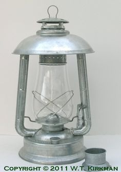 Check out the deal on W.T. Kirkman No. 2P Champion Patio Lantern at W.T. Kirkman Oil and Electric Lanterns