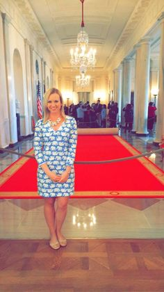 Lilly Pulitzer dress for a  White House Tour  http://www.workaholicwanderlustingwoman.com/