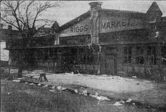 1462 P St. NW, Logan Circle area market (early 1900s)