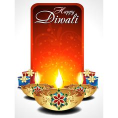 Free vector Happy Diwali typography logo with Gold Lamp and gift box vertical banner illustration Happy Diwali Quotes Wishes, Happy Diwali Images Hd, Happy Diwali Wallpapers, Happy Diwali 2019, Diwali Photos, Diwali Wishes, Happy Images, Diwali 2014, Diwali Cards