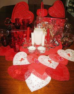 Cool Valentine Centerpiece Decor