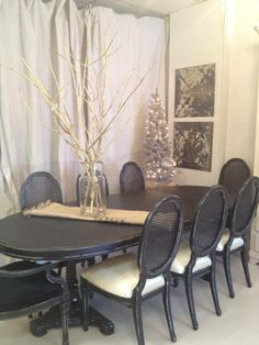 Shabby Chic Dining Room Doll Up Your Dining Room  Pinterest Inspiration Chic Dining Room Sets Inspiration Design