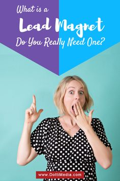 What is a and Do You Really Need One? Lead Magnet, Do You Really, Social Media Marketing, Accounting, Told You So, Posts, Tips, Blog, Messages