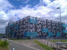 The World's 10 Coolest Car Parks,Millenium Point in Birmingham, UK. Via Flickr…