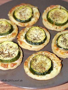 Zucchini-Blaetterteig-Haeppchen Rezept