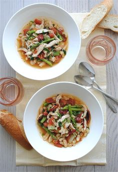 Chicken and Vegetable Minestrone