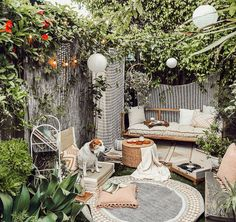 Spring Roundup: Indoor/Outdoor Garden Space — The Tiny Canal Cottage