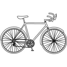 Color Your Own Bike