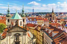 Aerial view of Prague, Czech Republic. Glad Prague made it on this list. Oh The Places You'll Go, Places To Travel, Travel Destinations, Places To Visit, Paris Orly, Destination Voyage, City Break, Kirchen, Eastern Europe