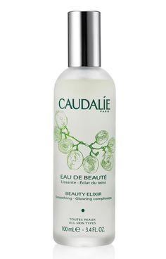 Eau de Beauté de Caudalie http://www.vogue.fr/beaute/exclu-vogue/diaporama/dans-le-vanity-de-victoria-beckham/16420/image/884158#!eau-de-beaute-de-caudalie